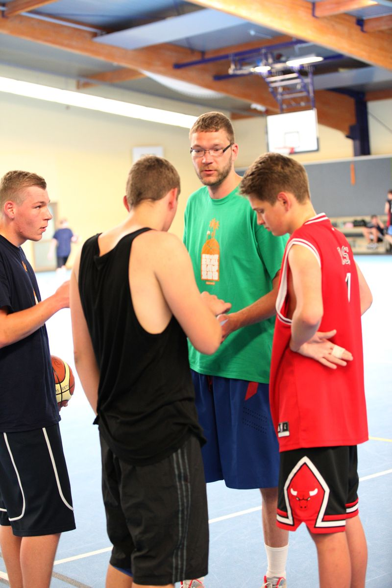 Basketball-Sommercamp 2013 in Graal-Mueritz Tag 3_11