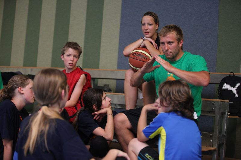 Basketball-Sommercamp 2013 in Graal-Mueritz Tag 3_14